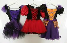 Girl's Halloween Costumes Witch Pumpkin Fancy Dress Up Party 3-4 years