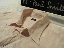 "PAUL SMITH Mens Shirt �� Size M (CHEST 38"") �� RRP £95+ �� FLORAL & PALE SPOTS"