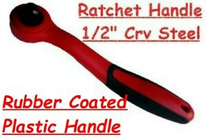 "RATCHET HANDLE 1/2"" INCH DRIVE COMPOSITE OFFSET RATCHET Crv STEEL FREE POST"