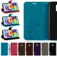 Luxury Leather Flip Credit Card Slot Stand Cover Case Wallet For Samsung Galaxy