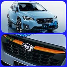 2018 19 XV Crosstrek JDM Subaru genuine  OEM grille winglets trim : Orange color
