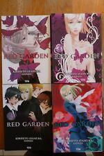 Red Garden ; Série complète des tomes 1 à 4; promo de Noël !