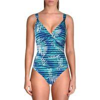 Lauren Ralph Lauren Women's 180592 Halter Underwire One-Piece Swimsuit Size 8