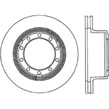 Disc Brake Rotor-Sport Slotted Cryo Disc Rear/Front-Left Stoptech 126.83013CSL