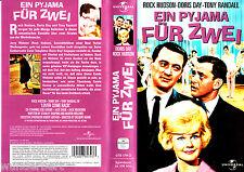 """VHS - """" Ein Pyjama für ZWEI ( Lover Come Back ) """" (1961) Rock Hudson - Doris Day"""