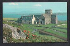 L@@K  The Abbey Iona Scotland Island 1985 Postcard
