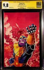 THANOS #13 CGC SS 9.8 DONNY CATES COSMIC GHOST RIDER SILVER SURFER BLACK ENDGAME