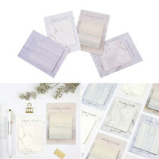 1Pc Self-Adhesive Memo Pad Index Flag Sticky Notes Bookmark School Office Z9K
