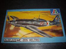 ITALERI  MC.205 VELTRO PLASTIC MODEL 1/72