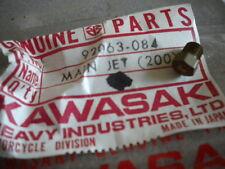 NOS Kawasaki OEM Main Jet 200M 1970 G4TR 92063-084