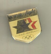 1984 LOS ANGELES SUMMER OLYMPICS Lapel Pin MICHELOB LIGHT Olympic BEER Sponsor