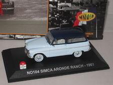 NOSTALGIE SIMCA ARONDE RANCH 1961 1:43