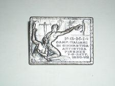 pin spilla distintivo  ginnastica 1930 anno VIII DI E.F.