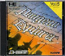 Dungeon Explorer 1 NEC PC Engine super CD ROM SCD Turbografx 16 Japan
