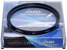 58mm. filtro UV Green L. Filtro ultravioletto. UV filter.