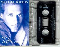 Michael Bolton To Love Somebody 1992 Cassette Tape Single Pop Dance Rock