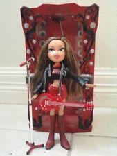 Bratz Girlz Girl Yasmin Rock Angelz Doll On Air Studio Booth Microphone Guitar
