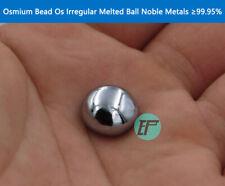 Osmium Bead Os Irregular Melted Ball 10g Noble Metals ≥99.95%