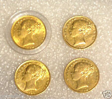 1864  die 7  plus more   Victoria  Full Sovereign #dj 2601