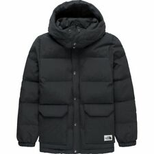 TNF $180 The North Face Sierra 600-Down Hooded JACKET Parka Boys S/7-8 Dark Grey
