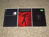 """AWESOME LOT OF 3 BLAIR WITCH PROJECT #1 COMICS-CHRONICLES DYNAMIC FORCES COA VF"""""""