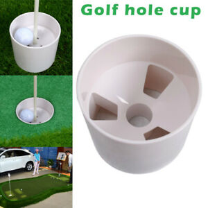 Golf Hole Cup Backyard Practice Flag Stick Putting Green Flagstick Training Aids