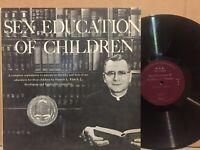 Francis Filas Sex Education Children EX 2LP bizarre weird Christian FRAME THIS