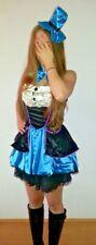 Sexy HUTMACHERIN 34-36 (S) Kleid Märchen Karneval Fasching Alice im Wunderland