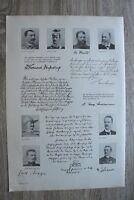 Kolonie 1895-1910 Leutwein Kurt Morgen Kohlstock Bumiller DOA DSWA China 41x29cm