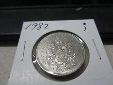 1982 - Canada 50 cent - Uncirculated Canadian half dollar -