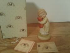 Memories of Yesterday We All Loves A Cuddle Figurine 1990 Flower Backstamp