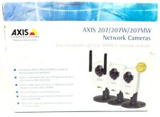 Axis 207W Wireless Network Security Camera 2006 Axis Communications New Open Box