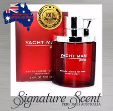 YACHT MAN RED by MYRURGIA100ml EDT Spray Perfume For Men...........New (BNIB)