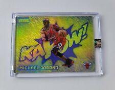 Michael Jordan KAPOW Legacy Yellow Shimmer Refractor Chicago Bulls