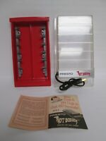 """Vintage PRESTO """"Hot Dogger"""" """"RED"""" Electric Hot Dog Cooker w/ Manual"""