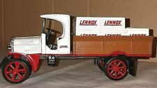 LENNOX Die Cast Metal 1925 Kenworth Crate Bank Made by ERTL With Key Without Box