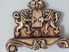 New listing Early Israel By E.Weishoff Ceramic Hanukkah Lamp Menorah Judaica jewish