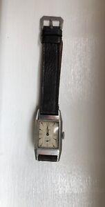 Vintage Cyma Tank watch (unrestored