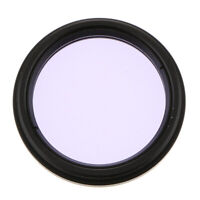 """For Celestron Telescope Color Filter 2"""" Moon Planet Nebula Clear View Purple"""