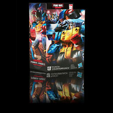 (In-Hand) Transformers Prime Wars Trilogy Power Of The Primes Punch Counterpunch