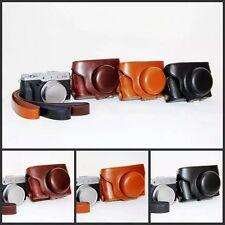 Retro Vintage PU Leather Case Bag Cover for Fujifilm Fuji Finepix X30 Camera