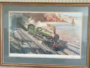 Terence Cuneo limited print signed and in excellent condition.