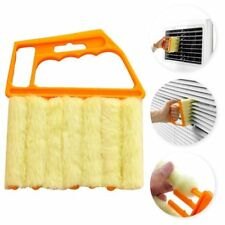 Microfibre Venetian Blind 7 Brush Window Air Conditioner Duster Dirt Cleaner UK