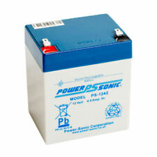 Power-Sonic 12 V Rechargeable Batteries 4 Ah Amp Hours