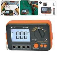 1000V 0.1~2000MΩ VC60B Digital Insulation Resistance Meter MegOhm Tester K5M0