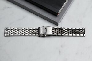 Beads of Rice Watch Band 18mm 20mm 22mm for new or vintage watches