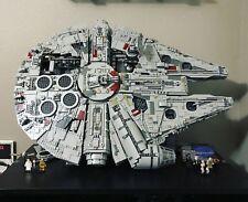 """KIT LEGO """" Light Bluish Gray """" Vertical Stand pour Millennium Falcon 75192"""