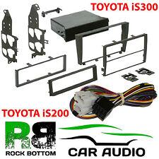 Ct24lx01 LEXUS IS200 98-03 unique ou D / DIN Autoradio Stéréo fascia & amp kit by-pass