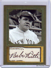 BABE RUTH, by D. Gordon, Trading Art Card, Facsimile Signature, New York Yankees