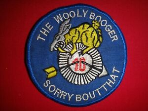USAF 620th TACTICAL CONTROL Squadron THE WOOLY BOOGER Vietnam War Patch